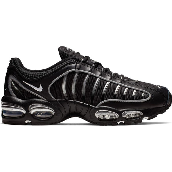 NIKE AIR MAX TAILWIND IV BLACK/WHITE-METALLIC SILVER