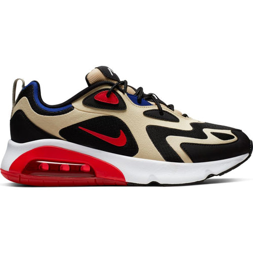 NIKE AIR MAX 200 TEAM GOLD/UNIVERSITY RED-BLACK-WHITE