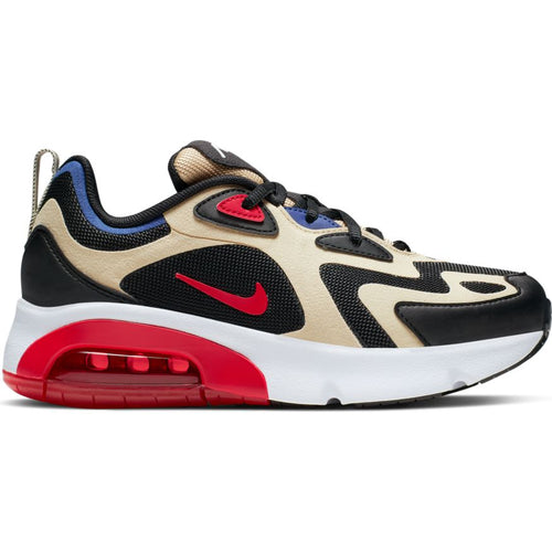 NIKE AIR MAX 200 (GS) TEAM GOLD/UNIVERSITY RED-BLACK-GOLD