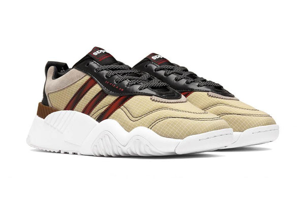 ADIDAS X ALEXANDER WANG AW Turnout Trainer, Core Black/ Light Brown/ Bright Red