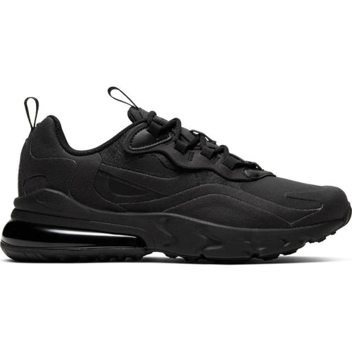NIKE AIR MAX 270 REACT BLACK/BLACK (GS)