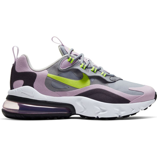 NIKE AIR MAX REACT PARTICLE GREY/LEMON VENOM-ICED LILAC