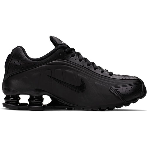 NIKE SHOX R4 (GS) BLACK/WHITE