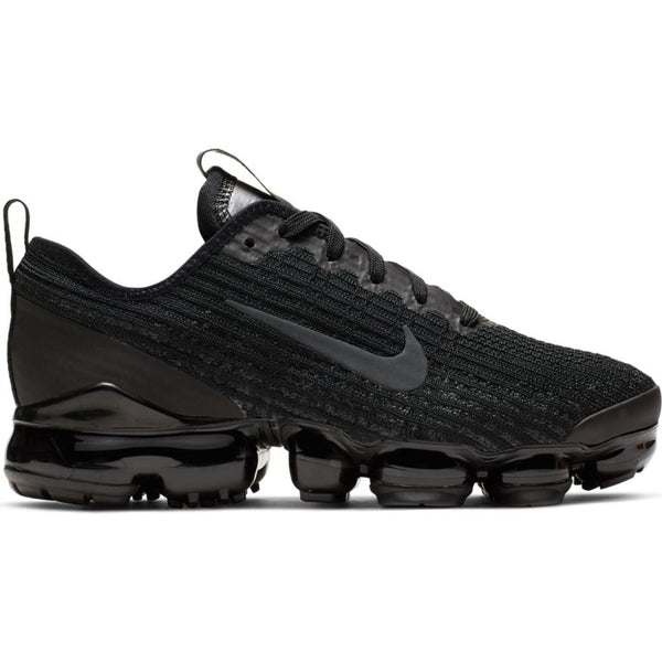 NIKE AIR VAPORMAX FLYKNIT 3 (GS) BLACK/ANTHRACITE-WHITE-METALLIC SILVER