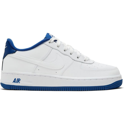 NIKE AIR FORCE 1 WHITE/DEEP ROYAL BLUE