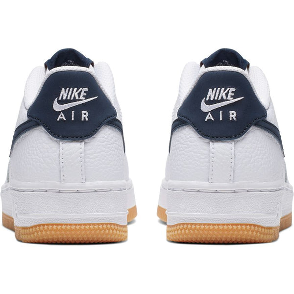 NIKE AIR FORCE 1-2 WHITE/OBSIDIAN-UNIVERSITY RED
