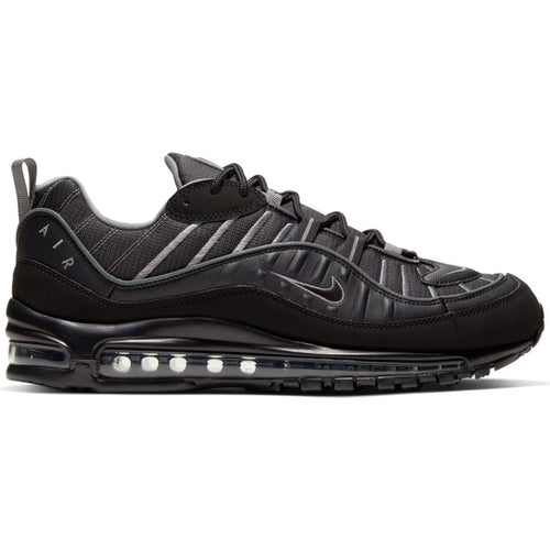 NIKE AIR MAX 98 BLACK/SMOKE GREY-VAST GREY