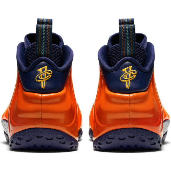 NIKE AIR FOAMPOSITE 1 BLUE VOID/UNIVERSITY GOLD-RUGGED ORANGE