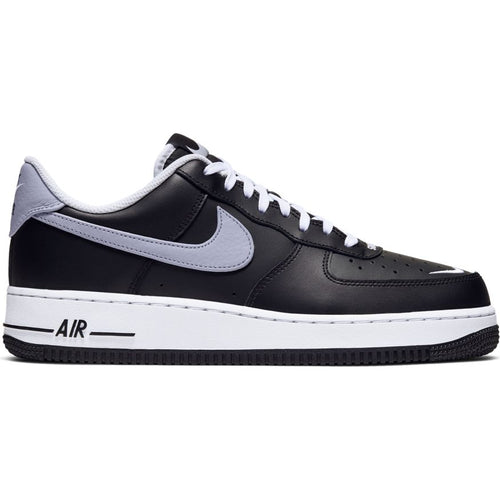 NIKE AIR FORCE 1 '07 LV8 BLACK/WOLF GREY-WHITE