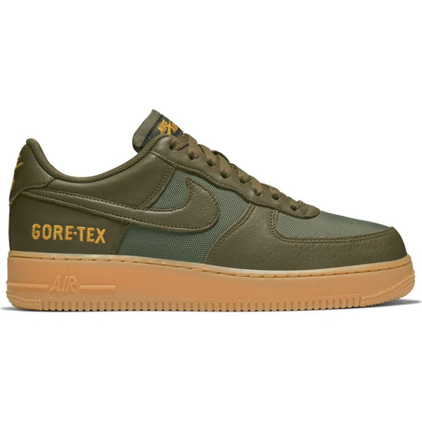NIKE AIR FORCE 1 GORE-TEX MEDIUM OLIVE/SEQUOIA-GOLD-BLACK