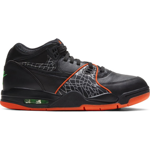NIKE AIR FLIGHT 89 BLACK/ORANGE BLAZE-GREEN STRIKE-WHITE