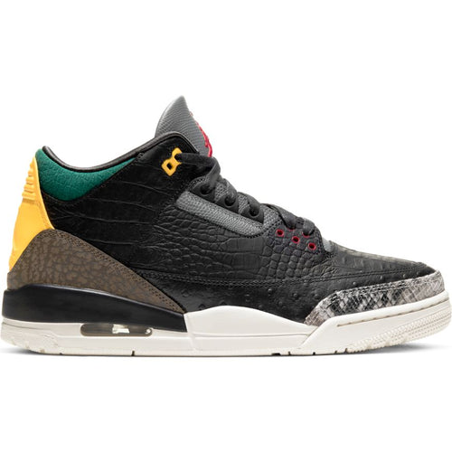 AIR JORDAN 3 RETRO SE BLACK/WHITE-GORGE GREEN