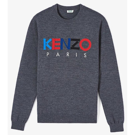 KENZO Embroidered Tiger Shirt, Ink