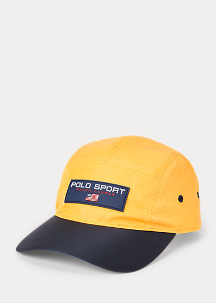 POLO RALPH LAUREN  POLO SPORT FIVE-PANEL CAP, YELLOW