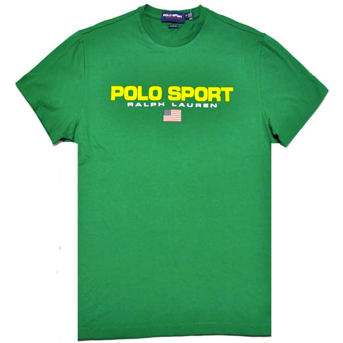 POLO RALPH LAUREN Polo Sport Cotton T-Shirt, Green