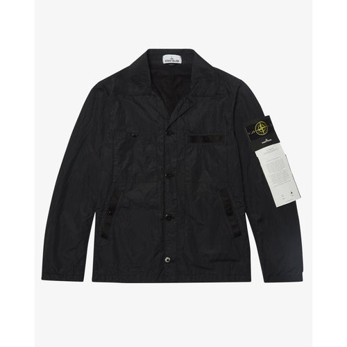 STONE ISLAND JACKET PA/PL Seersucker-TC Jacket, Black