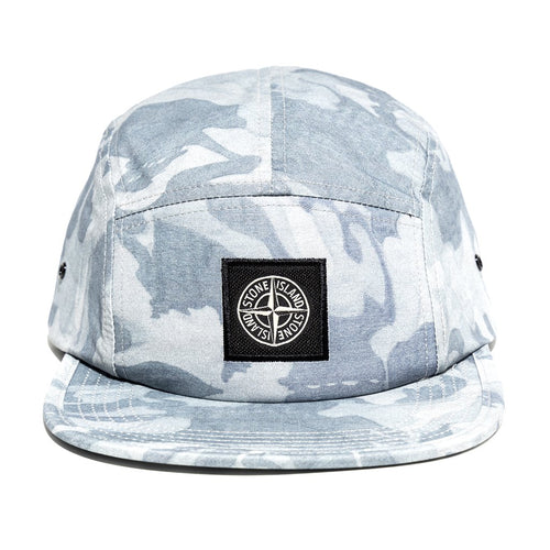STONE ISLAND 5 Panel Hat, Big Loom Camo