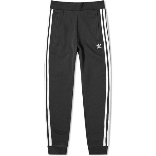 ADIDAS 3-Stripe Sweatpants, Black-OZNICO