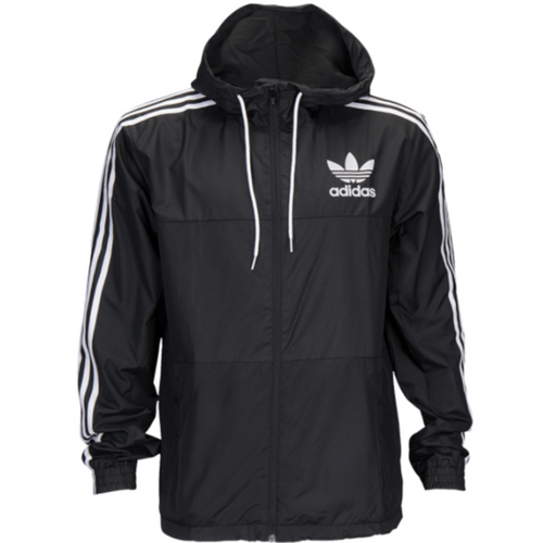 ADIDAS Adicolor California Windbreaker, Black-OZNICO