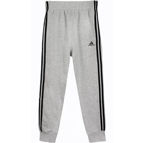 ADIDAS Slim 3S Sweatpants, Grey/ Black-OZNICO
