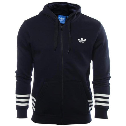 ADIDAS Street Graphic Hoodie, Ink-OZNICO
