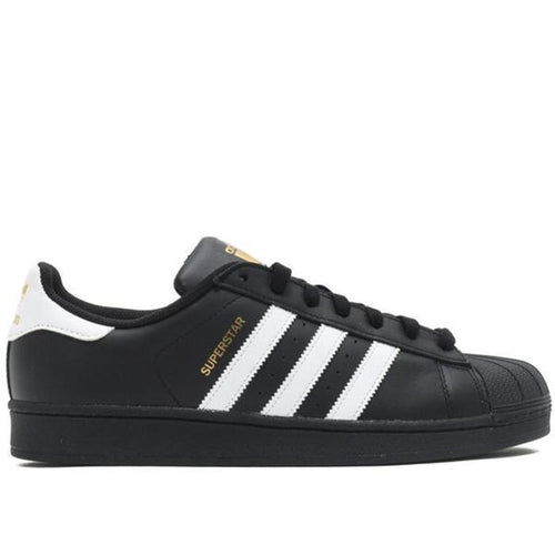 ADIDAS Superstar Foundation, Black/ White-OZNICO