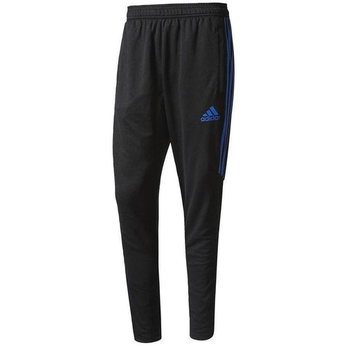ADIDAS Tiro 17 Training Pants, Black/ Blue-OZNICO
