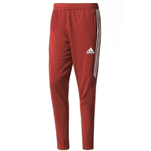 ADIDAS Tiro 17 Training Pants, Mystery Red/ White-OZNICO