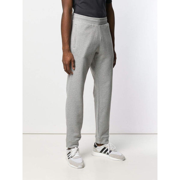 ADIDAS Trefoil Sweatpants, Medium Grey Heather-OZNICO