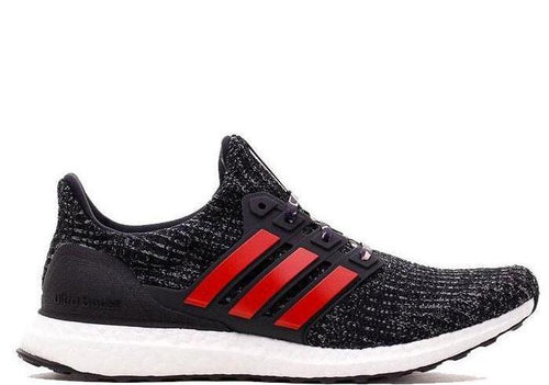 ADIDAS Ultraboost, Black/ Red-OZNICO