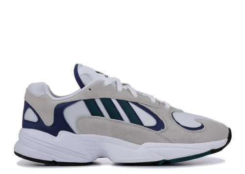 ADIDAS Yung-1, Cloud White/ Noble Green-OZNICO