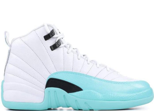 "AIR JORDAN 12 Retro (GS), ""Light Aqua""-OZNICO"