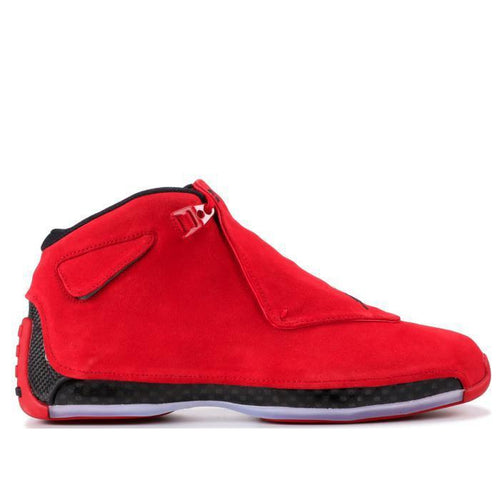 "AIR JORDAN 18 Retro, ""Red Suede""-OZNICO"