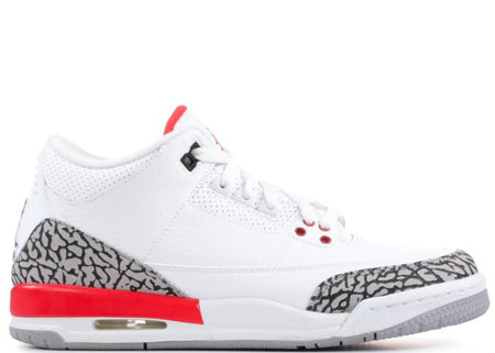 "AIR JORDAN 3 Retro, ""Pure White"""