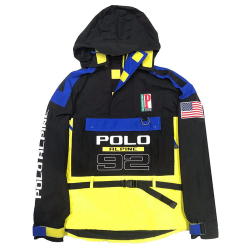 POLO RALPH LAUREN Classic-Fit Water Repellant Anorak Alpine Ski 92 Pullover, Multi