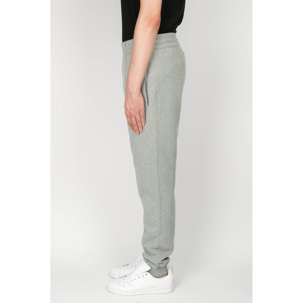 BALLY Cotton Fleece Sweatpants, Grey Melange-OZNICO