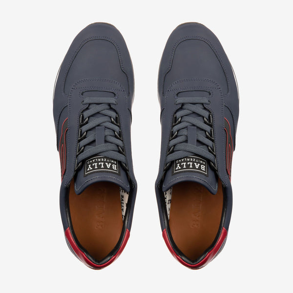 BALLY Galaxy Rubberized Leather Trainer