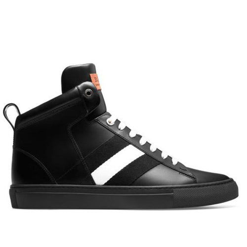 BALLY Hedern Leather High Top Sneaker-OZNICO