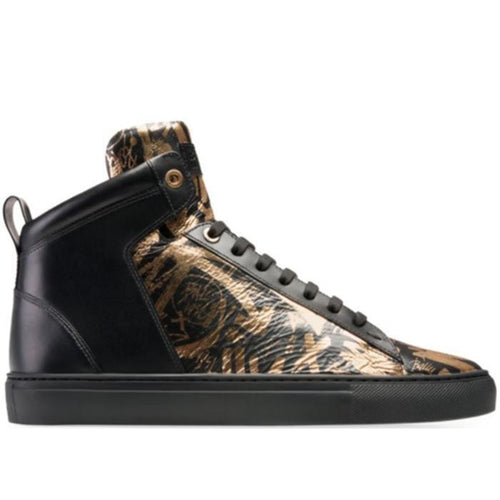 BALLY Hedo Men's Leather High Top Sneaker-OZNICO