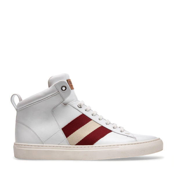 BALLY Men's Hedern Leather High Top Sneaker-OZNICO