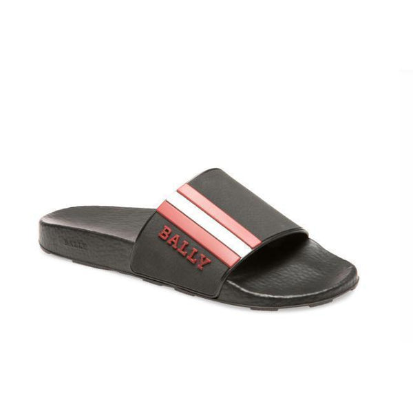BALLY Saxor Men's Rubber Slide-OZNICO