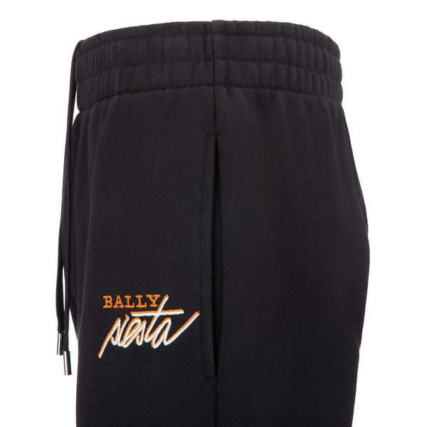 BALLY Siesta Tracksuit Bottoms, Black-OZNICO