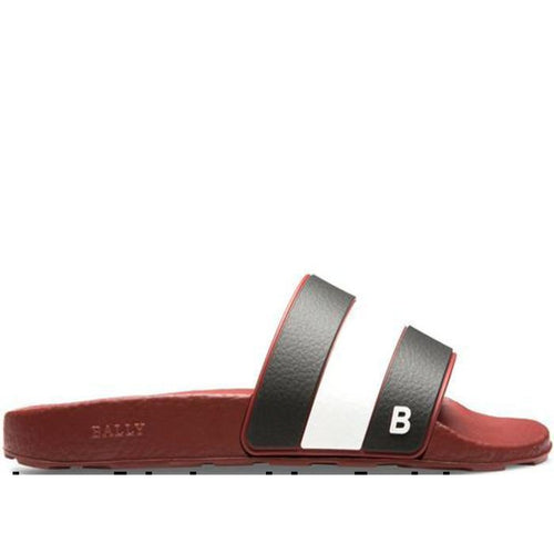 BALLY Sleter Men's Rubber Slide-OZNICO