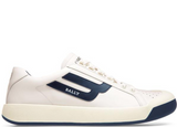BALLY The New Competition Sneaker, White/ Marine-OZNICO