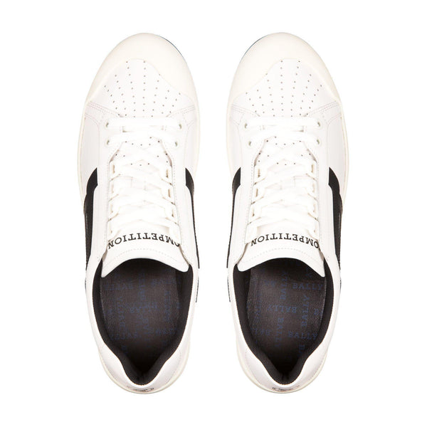 BALLY The New Competition, White/Black-OZNICO