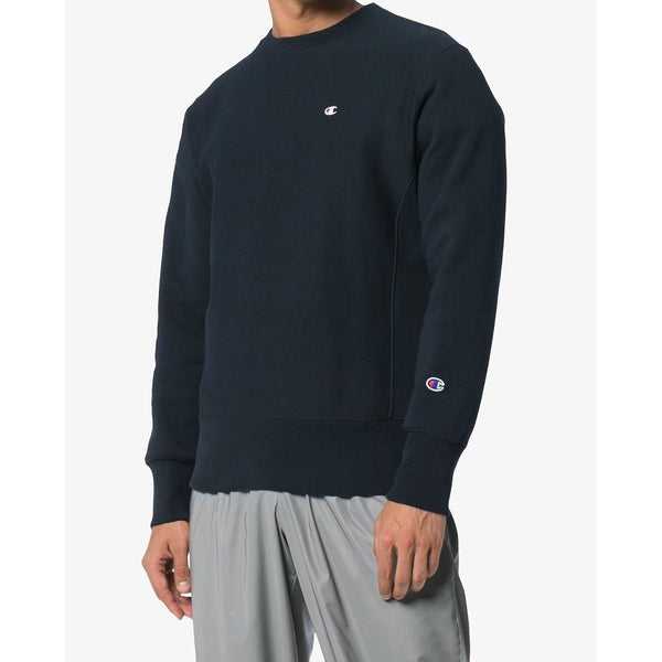 0bb58be1 ... CHAMPION Reverse Weave Classic Crewneck, Navy-OZNICO ...