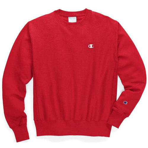 CHAMPION Reverse Weave Classic Crewneck, Team Red Scarlet-OZNICO