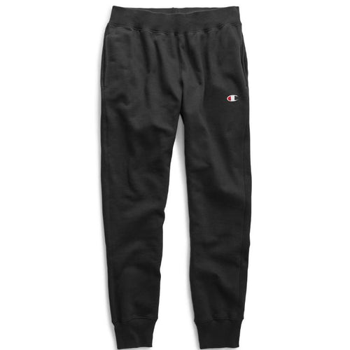 CHAMPION Reverse Weave Sweatpants, Black-OZNICO