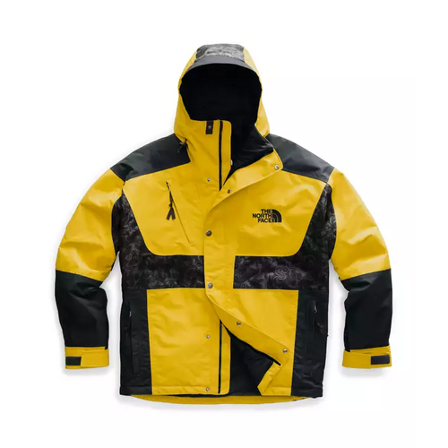 THE NORTH FACE '94 Rage Waterproof Synthetic Insulated Jacket, Leopard Yellow/ Asphalt Grey