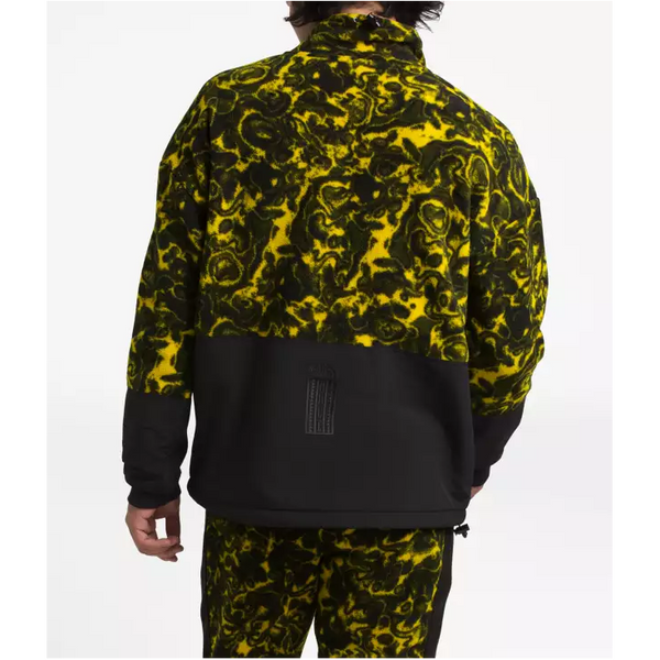 THE NORTH FACE '94 Rage Classic Fleece Pullover, Leopard Yellow/ Rage Print